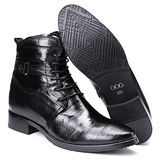 GOG高哥隱形增高鞋夏冬系列53571隱條紋單靴增高8.0cm(2013-12)