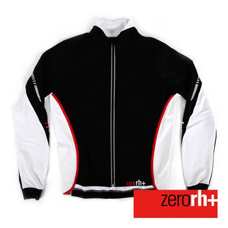 ZERORH+ 義大利專業刷毛防風長袖自行車外套(男) ICU0093