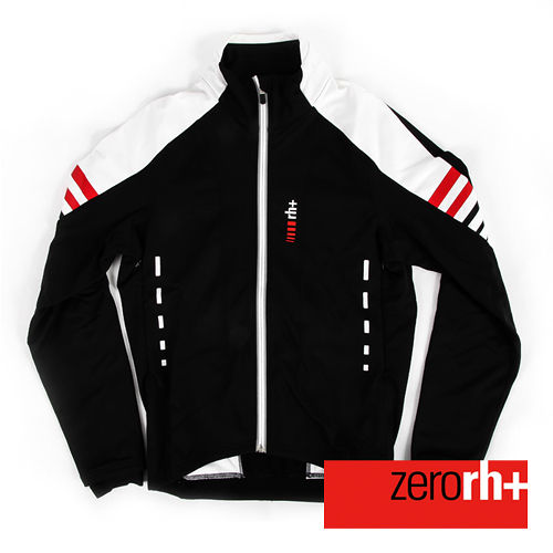 ZERORH 義大利 競賽級刷毛防風自行車外套 男 ~黑色 ICU0142