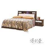 【優利亞-晴空物語】雙人5尺三件式床組(2色可選)