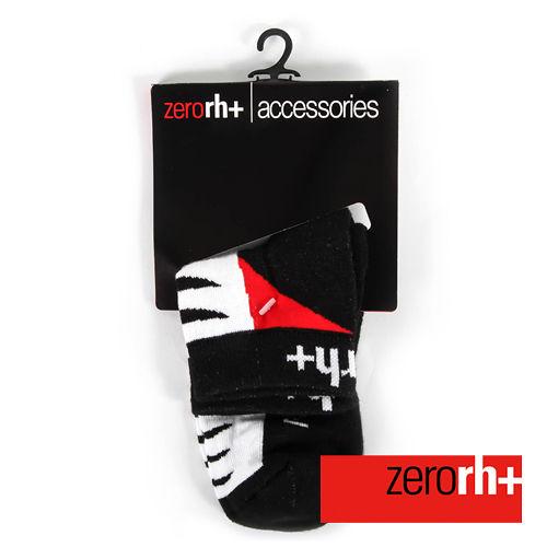 ZERORH 短筒保暖 排汗襪~黑紅 ICX9515