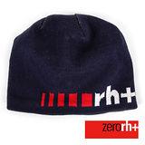 ZERORH+ 義大利製時尚休閒羊毛帽-藍色 INX9012