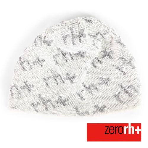 ZERORH 義大利製 休閒羊毛帽~白 INX9022