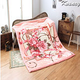 《KOSNEY 水晶之語 》頂級日本新合纖雙層舒眠毛毯180*230cm