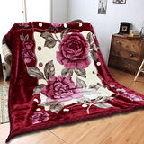 《KOSNEY 品味夢語 》頂級日本新合纖雙層舒眠毛毯180*230cm