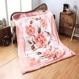 《KOSNEY 粉紅戀曲》頂級日本新合纖雙層舒眠毛毯180*230cm