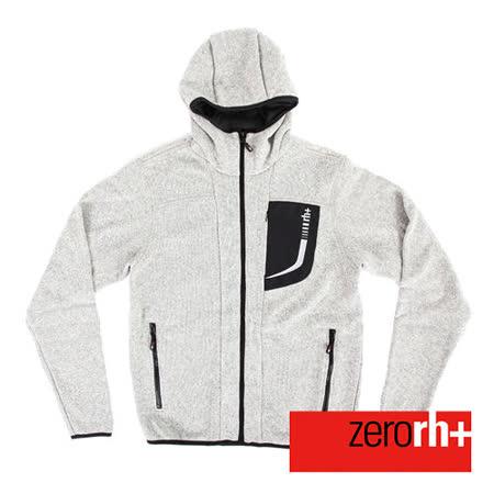 ZERORH+ 保暖刷毛時尚造型休閒外套(男)-灰色  IWU4143