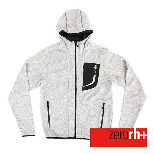 ZERORH 保暖刷毛 休閒外套 男 ~灰色 IWU4143