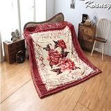 《KOSNEY愛戀情調》頂級日本新合纖雙層舒眠毛毯180*230cm