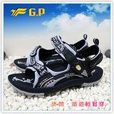 【G.P】新款織帶個性設計(35-38尺碼)-時尚休閒好穿兩用涼鞋G3639W-20(藍色)共三色
