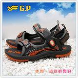【G.P】新款織帶個性設計(35-38尺碼)-時尚休閒好穿兩用涼鞋G3639W-42(橘色)共三色