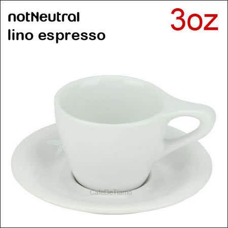 notNeutral lino espresso 濃縮杯盤組 3oz 89ml (一杯一盤) HG9354