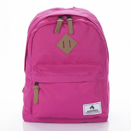 SKECHERS Backpack olid 粉紅色後背包-7460159