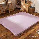 LAMINA 莉絲繽紛色彩記憶床墊(紫)8CM-單人