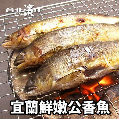 【買一送一】宜蘭鮮嫩公香魚(10尾/盒)