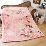 《KOSNEY-花語品味》日本新合纖雙層單人舒眠毛毯140x200cm