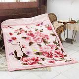《KOSNEY-色彩繽紛》日本新合纖雙層單人舒眠毛毯140x200cm