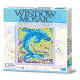 【4M】WINDOW MOSAIC 馬賽克拼圖 (海豚)