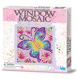 【4M】WINDOW MOSAIC 馬賽克拼圖 (蝴蝶)