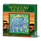 【4M】WINDOW MOSAIC 馬賽克拼圖 (大象)