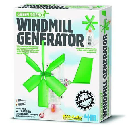 【4M】Green Science-Windmill Generator 風車發電機