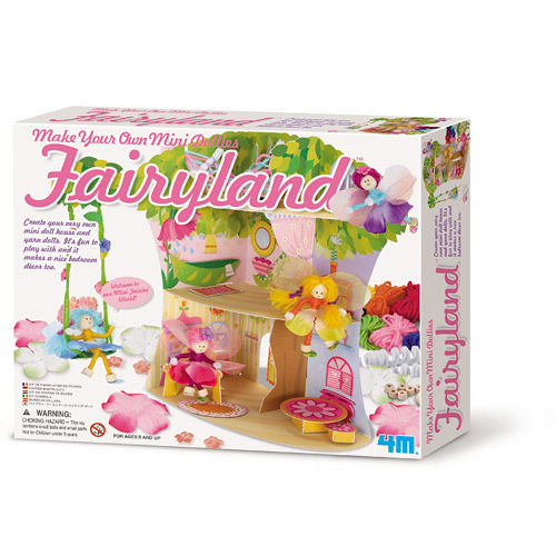 ~4M~Make Your Own Mini Dollies~Fairyland 花精靈