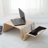 【AHOME】Jaden賈登曲木設計多功能矮几/膝上桌(共3色)