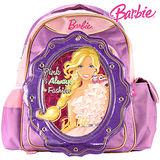 芭比Barbie 繽紛立體護脊書包C-紫