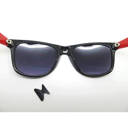 黑色防滑矽膠鼻墊/眼鏡防滑鼻墊 X 2付 (規格1.8mm)