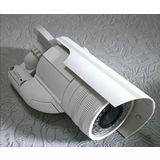 高仿真槍型偽裝監視器/假攝影機/假監視器/閃爍紅色LED/高嚇阻效果