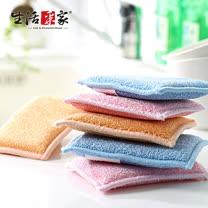 【生活采家】木質纖維油切清潔布(6入)#99268