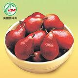美國紅西洋梨120/4粒