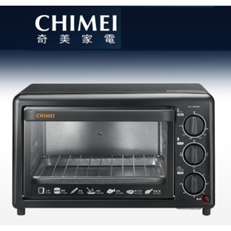 CHIMEI 奇美 EV-18A0AK  18公升 時尚電烤箱