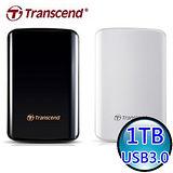 創見Transcend 25D3 1TB USB3.0 2.5吋行動硬碟
