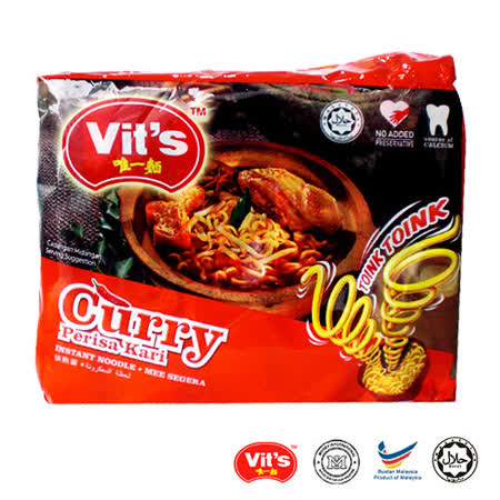 唯一 南洋咖哩湯麵 2袋組