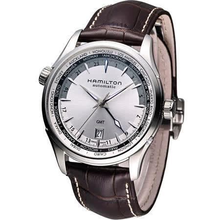 漢米爾頓 Hamilton Jazzmaster GMT 瑞士自動機械錶 H32605551