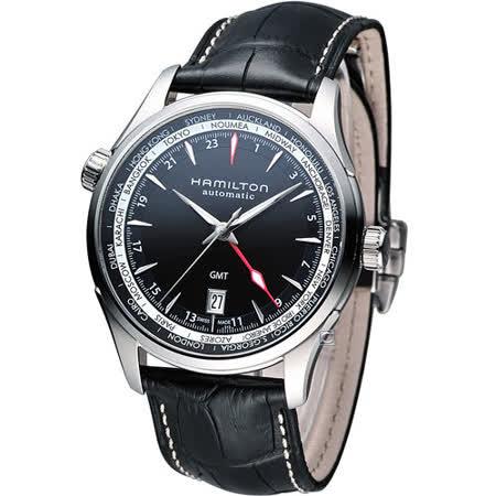 漢米爾頓 Hamilton Jazzmaster GMT 瑞士自動機械錶 H32695731