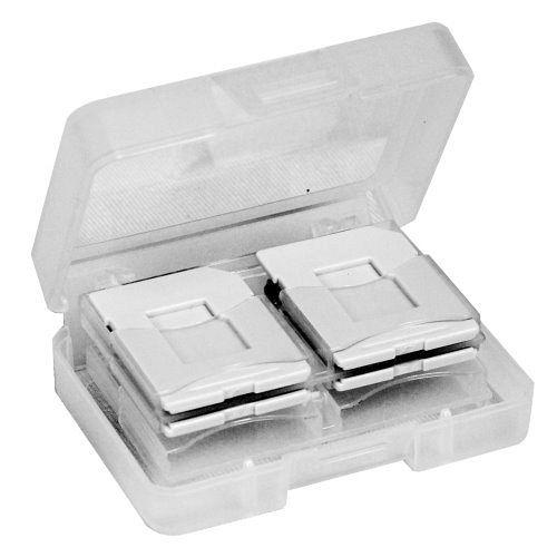 DigiStone SDSDHC MircoSD 炫彩記憶卡收納盒  8片裝 ~ 灰色