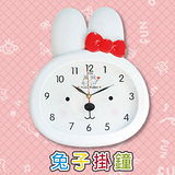 【SUNDAY】可愛兔子 掛鐘 (SV-616)