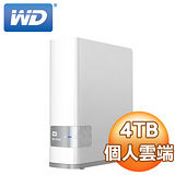 WD 威騰 4TB My Cloud  NAS 網路儲存伺服器