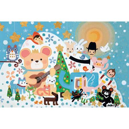 【P2拼圖系列】馬里斯創作系列-聖誕Wish (1000片)