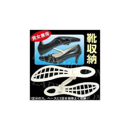 簡易型收納鞋架2入 ~鞋櫃空間容量大提升!