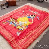 LAMINA  森林朋友日式床墊(粉)5CM-雙人