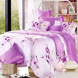 《KOSNEY 嬌媚動人 》加大100%天絲TENCEL八件式兩用被床罩組