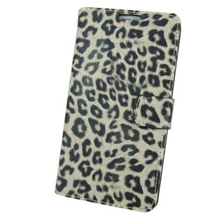 N16豹紋側翻款 三星Galaxy Note3(N9000)手機保護皮套