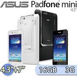 ASUS 華碩 PadFone Mini 16GB 3G版 (A11) 4.3吋雙卡雙待四核變形手機+7吋平板基座(珍珠白/巧克黑)【送16G記憶卡+手機保護貼+原廠手機防震保護套+車架】