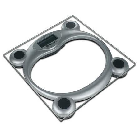 【KINYO】安全鋼化玻璃電子體重計(DS-6578)