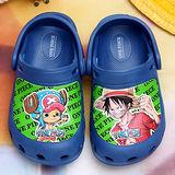 【童鞋城堡】航海王不對稱超輕布希花園鞋台灣製OP2232
