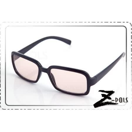 視鼎Z-POLS 經典質感黑(百搭大框) 抗UV+抗藍光眼鏡