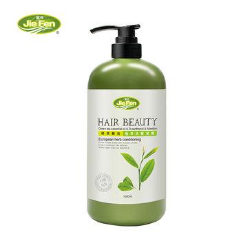 潔芬有機植萃洗髮精-綠茶1000ml